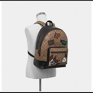 Limited Edition Coach x Keith Haring Backpack